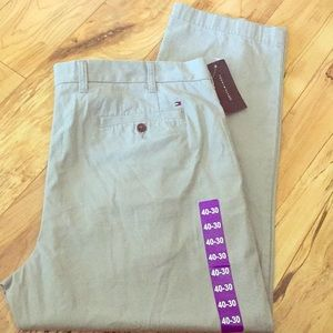 Tommy Hilfiger gray pants 40W-30L griffin tailored
